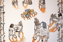Artists Doing Their Homework - September